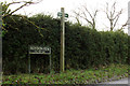 TM1079 : Roydon Fen sign & Footpath sign by Adrian Cable