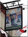 TM0559 : Hanging sign of the 'Little Wellington' public house by Adrian S Pye