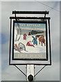 TM0659 : The hanging sign of 'The Retreat' public house by Adrian S Pye