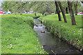 ST1687 : Porset Brook, alongside Lon yr Odyn, Caerphilly by M J Roscoe