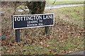 TM1080 : Tottington Lane sign by Adrian Cable