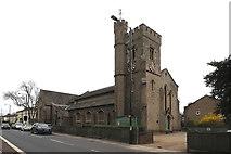 TQ1572 : Holy Trinity, Twickenham Green by John Salmon
