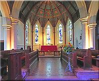 TQ1572 : Holy Trinity, Twickenham Green - Chancel by John Salmon