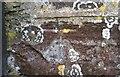 SM9220 : Ordnance Survey Cut Mark by Adrian Dust