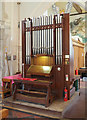 TR0149 : St Cosmas & St Damian, Challock - Organ by John Salmon