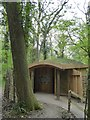 ST3623 : The heronry hide, Swell Wood nature reserve by David Smith
