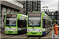 TQ3265 : Tramlink by Peter Trimming