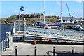 NX1898 : Gangway to Girvan Harbour Pontoons by Billy McCrorie