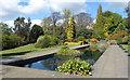 TQ2586 : Pond in Hill Gardens by Des Blenkinsopp