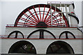 SC4385 : Laxey Wheel by Stephen McKay