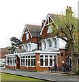 TQ5289 : Club house, Romford Golf Club, Gidea Park by Julian Osley