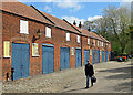 TG2308 : Norwich: stables on Ferry Lane by John Sutton