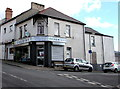 ST1368 : Chemist shop on a Cadoxton corner, Barry by Jaggery