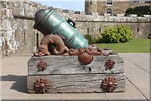 NS2310 : Historic Mortar/Cannon, Culzean Castle by Billy McCrorie
