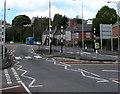 ST1268 : Zebra crossings, Gladstone Road, Barry by Jaggery