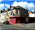 ST1368 : Smart Kebab House and Fish Bar on a Barry corner by Jaggery