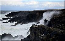 NB5266 : Heavy seas by the Butt of Lewis by John Allan