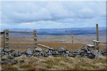 NT1515 : Summit fence, Firthhope Rig by Jim Barton