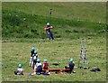 TQ7817 : PGL holiday group enjoying zip wire by Patrick Roper