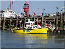 TM2532 : Harbour ferry at Ha'penny Pier by Oliver Dixon