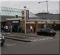 SU6770 : Queue outside Greggs,  Reading Services eastbound by Jaggery