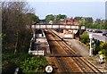 SK7518 : Melton Mowbray station, 1995 by Ben Brooksbank