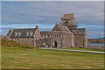 NM2824 : Iona Abbey by Ian Capper