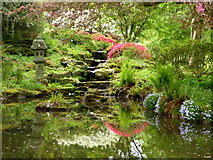 TR0660 : Water feature, Mount Ephraim by pam fray