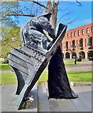 TA2609 : Fishermen's Memorial in St James' Gardens, Grimsby by Chris Morgan