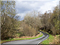 NN1782 : Bend of minor road at Kilmonivaig by Trevor Littlewood