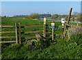 SK8282 : Stile on the Trent Valley Way by Mat Fascione