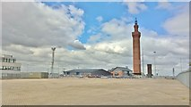 TA2711 : Grimsby Dock Tower by Chris Morgan