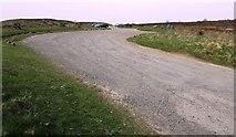 NO2505 : Car park at Purin Hill by Bill Kasman