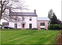 TG3204 : Broad Hall farmhouse by Evelyn Simak