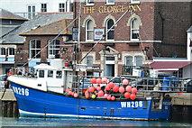 "SY6878 : ""Portland Isle"" beside the quay at Weymouth by David Martin"