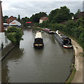 SP2965 : Narrowboats between bridges 46 and 47, Grand Union Canal, Warwick by Robin Stott