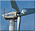 J4699 : Wind turbine, Middle Road, Islandmagee - May 2017(2) by Albert Bridge