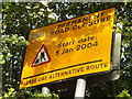 SP3383 : Permanent road closure by Niki Walton