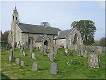 NY9393 : St. Cuthbert's Parish Church, Elsdon by G Laird