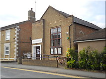 TF1505 : Polling station at Glinton Village Hall by Paul Bryan