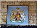 TF3024 : Church of All Saints: Royal Arms by Bob Harvey