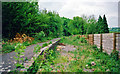 ST7660 : Midford station, remains 2001 by Ben Brooksbank