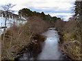 NH9022 : River Dulnain at Carrbridge by David Dixon