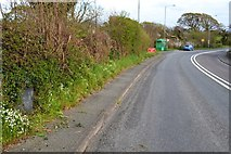 SH4758 : Milestone On Former A487 by Keith Evans
