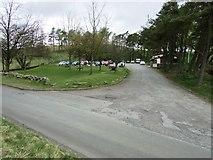 NO2206 : Craigmead car park, Lomond hills by Bill Kasman