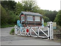 SE7365 : Kirkham Abbey Signalbox and Crossing Gates by Jonathan Thacker