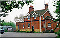 SU4657 : Former Burghclere station, 2001 by Ben Brooksbank