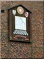 SJ8969 : Gawsworth Hall, south wing sundial by Alan Murray-Rust