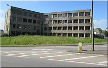 SO8304 : Brutalist office building in Stroud by Jaggery