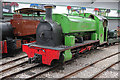 SK2406 : Statfold Barn Railway - Barber by Chris Allen
